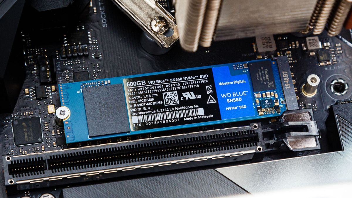 WD Blue SN550 M.2 NVMe SSD Review: The Best DRAMless SSD Yet | Tom's  Hardware