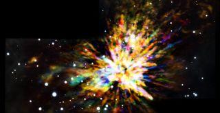 Orion Molecular Cloud 1 composite image