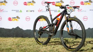 Trek-Pirelli MTB team bike