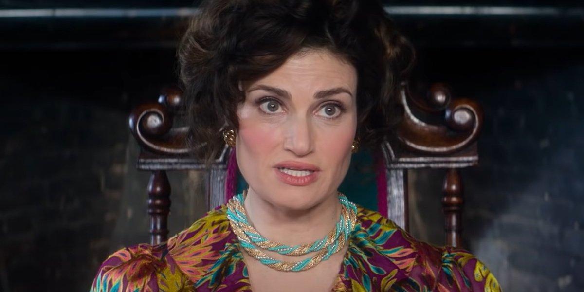 Idina Menzel as Vivian in Cinderella.