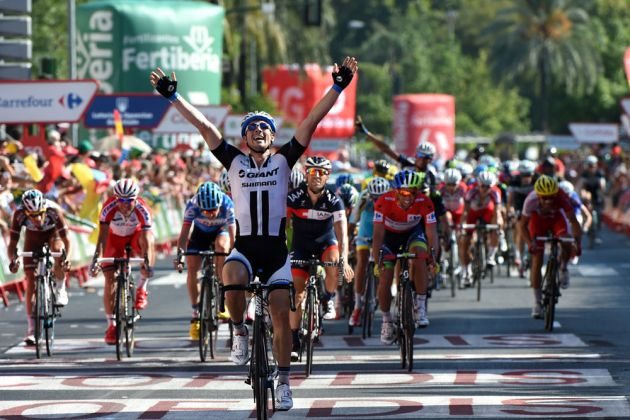John Degenkolb wins stage four of the 2014 Tour of Spain