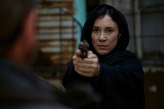 Sibel Kekilli as Madina Taburova in Bullets.