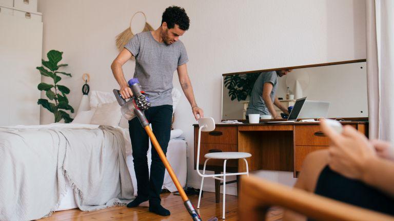Vacuum household chores