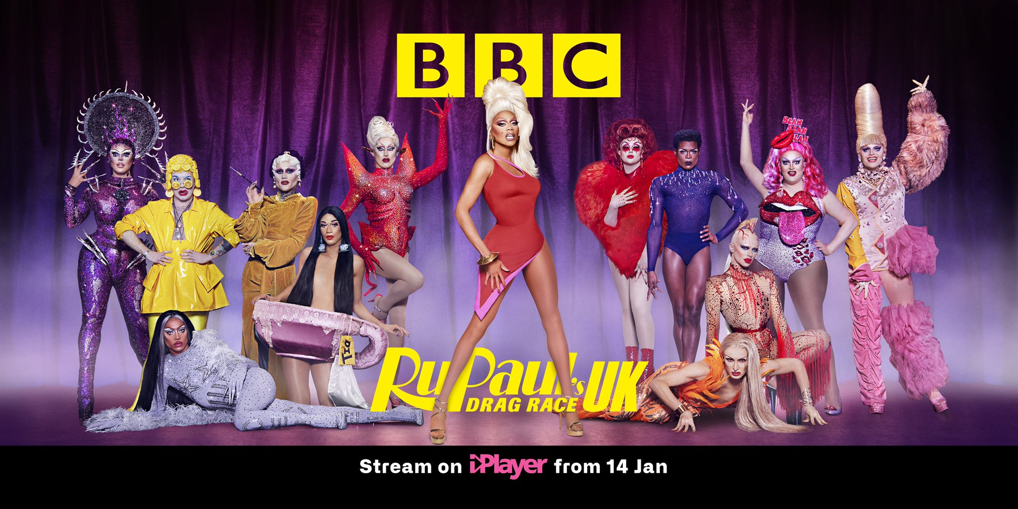 Drag Race UK season 2 poster