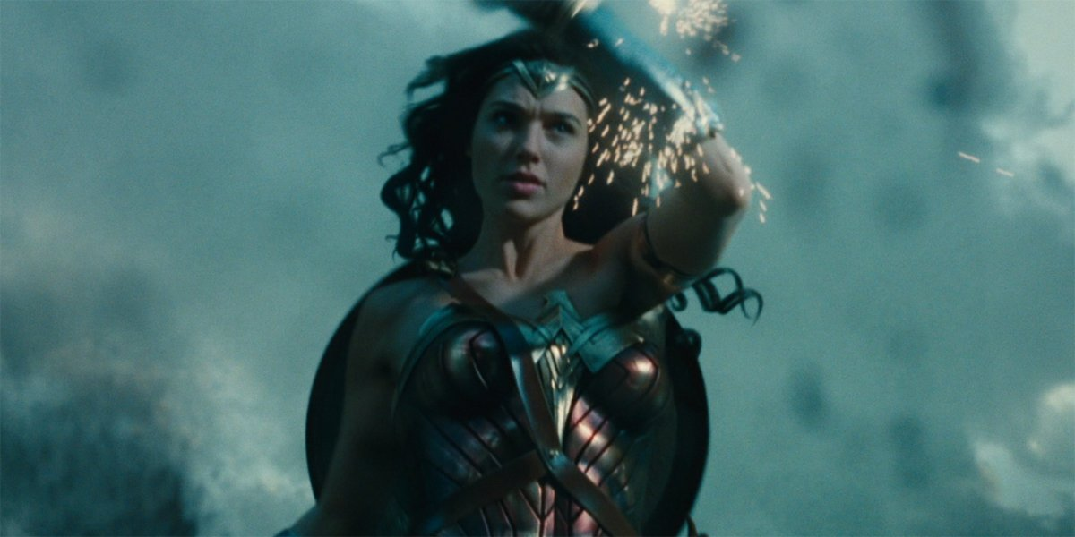 Wonder Woman in No Man's Land in Wonder Woman