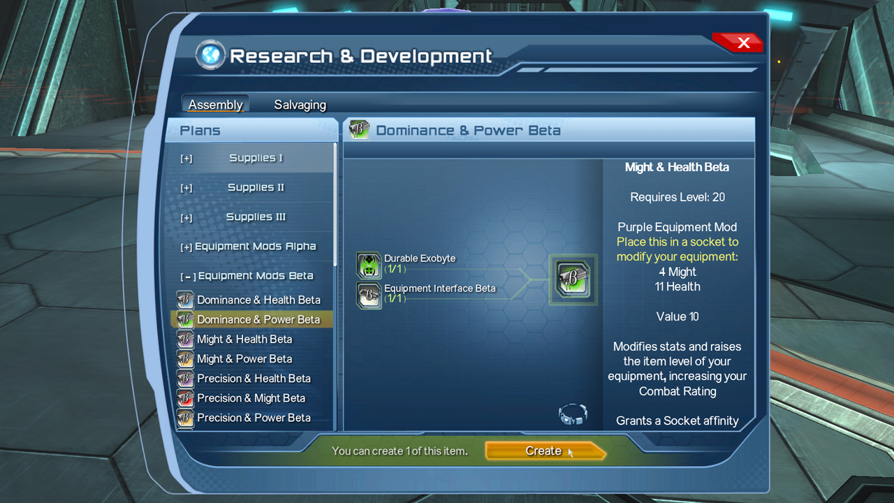DC Universe Online Gets A Crafting System #20225