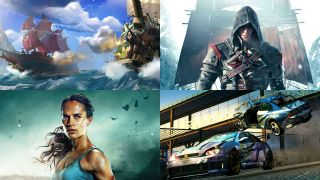 Tomb Raider, Sea of Thieves, Assassin's Creed Rogue and Burnout Paradise Remastered