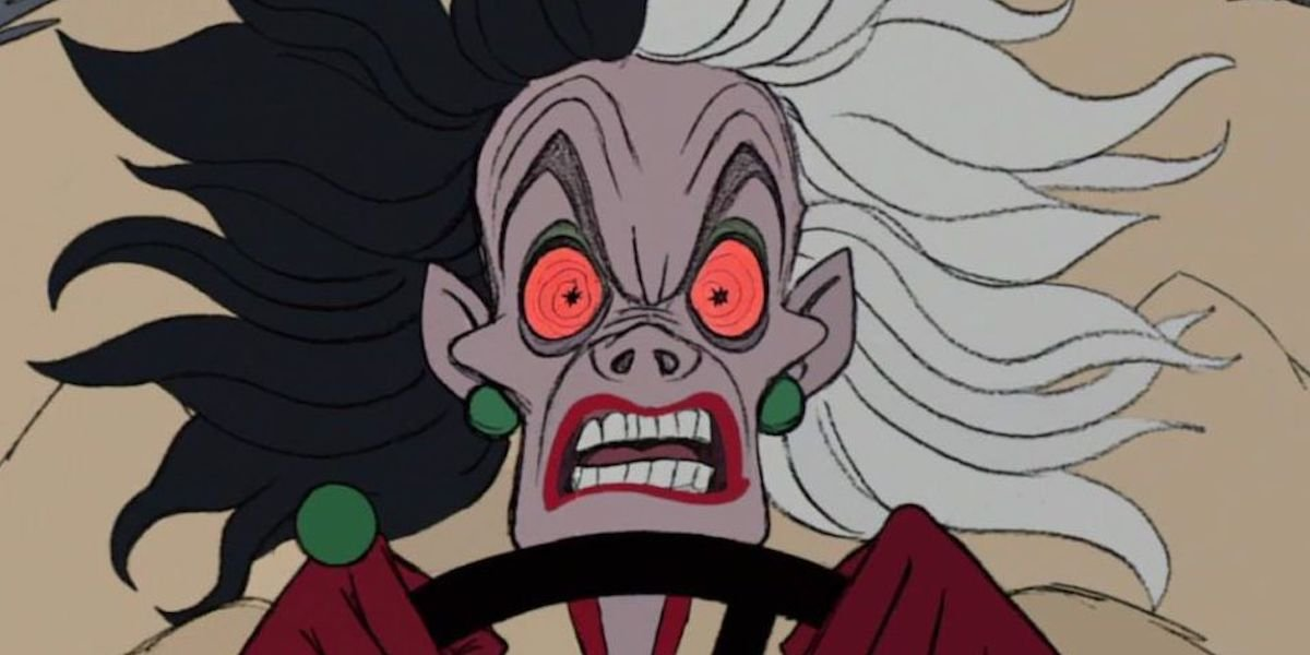 Cruella looks like she is on LSD