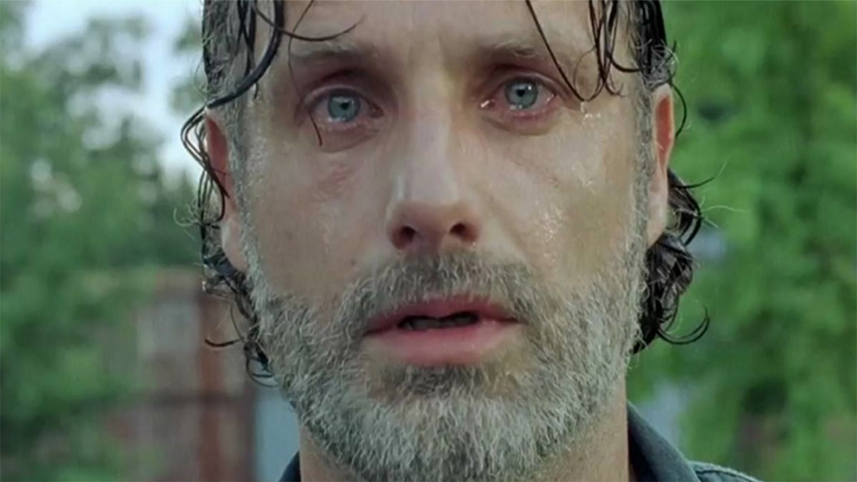 Watch Andrew Lincoln confirm The Walking Dead season 9 will be his last and try not to cry