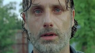 An image of Andrew Lincoln as Rick Grimes from The Walking Dead