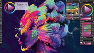 Corel Painter 2020 interface