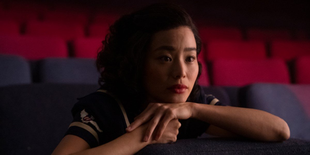 jamie chung in theater on lovecraft country