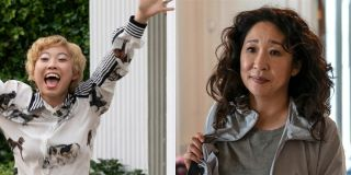 Awkwafina in Crazy Rich Asians and Sandra Oh in Killing Eve