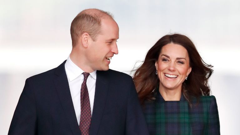 Prince William, Duke of Cambridge and Catherine, Duchess of Cambridge, arrive to officially open V&A Dundee