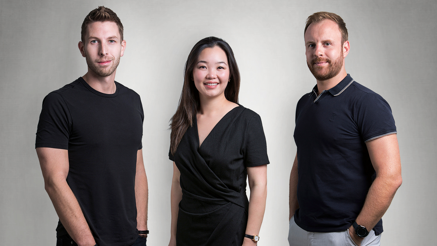 Nomad Homes Co-founders (L-R): Daniel Piehler, Helen Chen, and Damien Drap