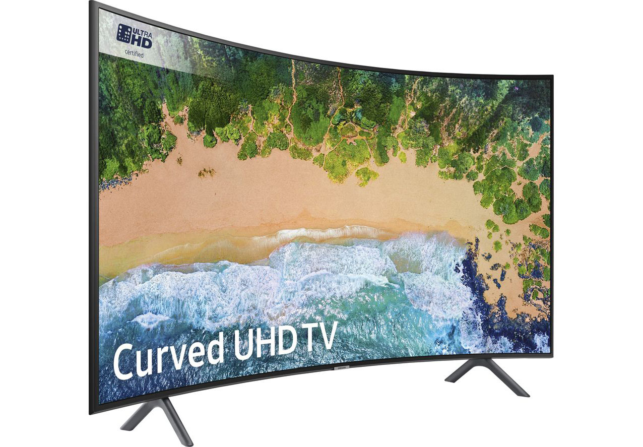 Samsung NU7300: is this curved 4K TV worth buying this Black