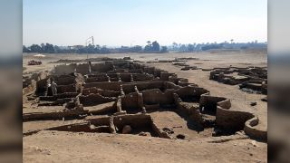 """The """"Lost Golden City"""" has been buried under Luxor for the past 3,000 years."""