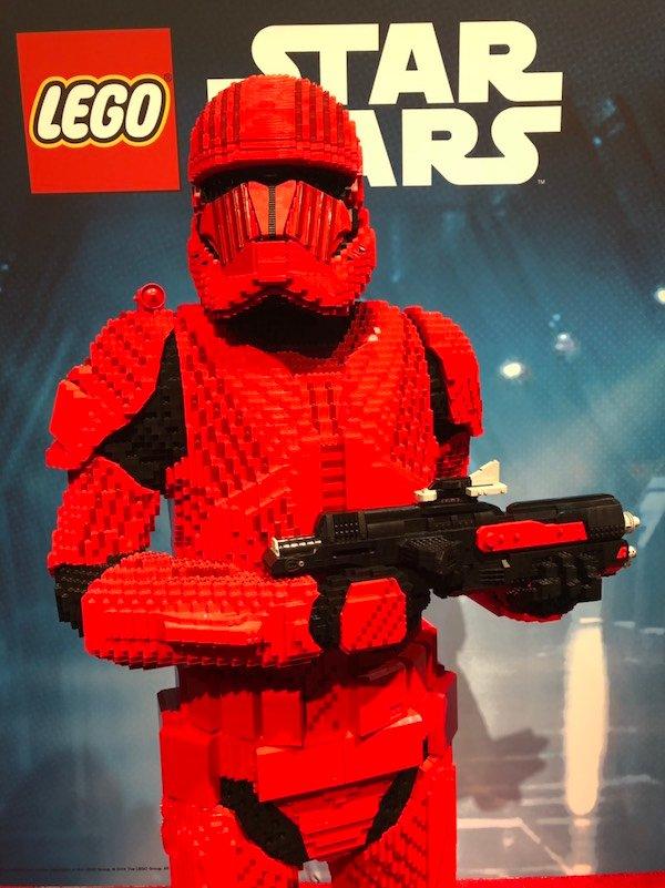 A Lego Sith Trooper