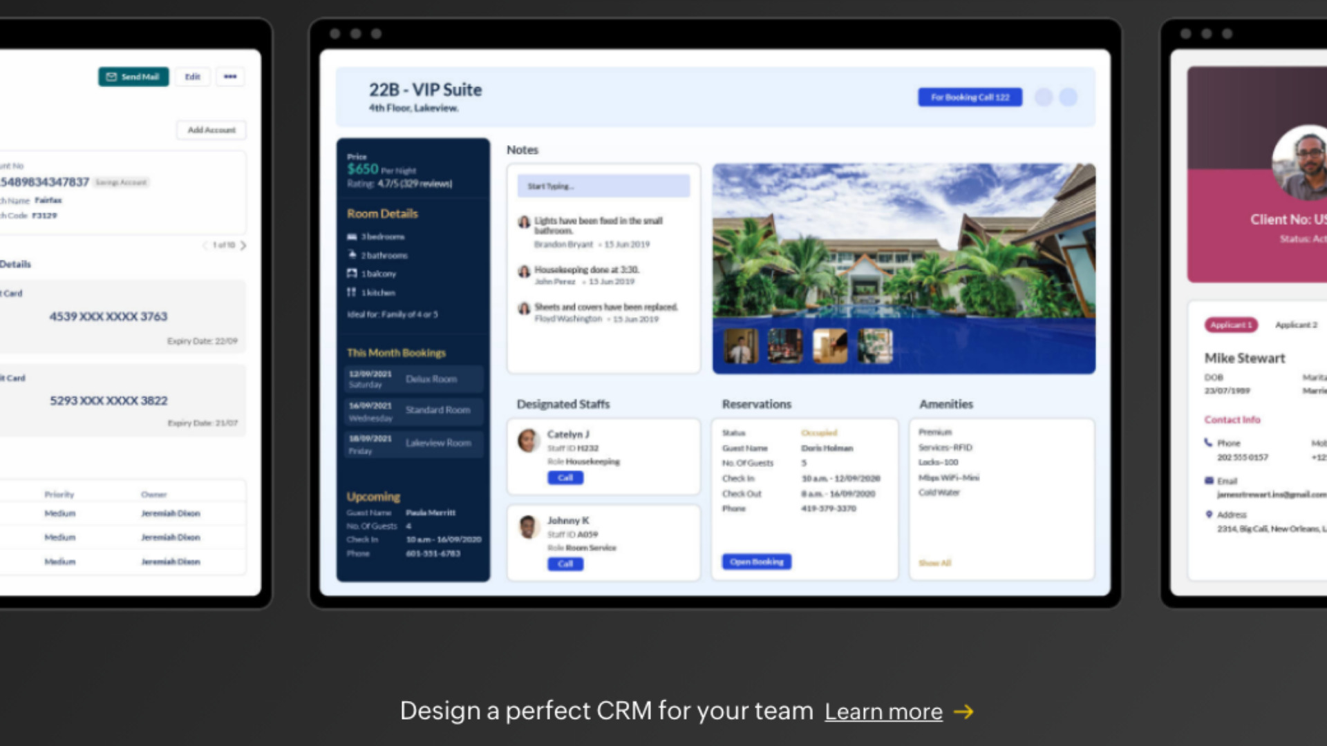 Zoho CRM's Canvas feature