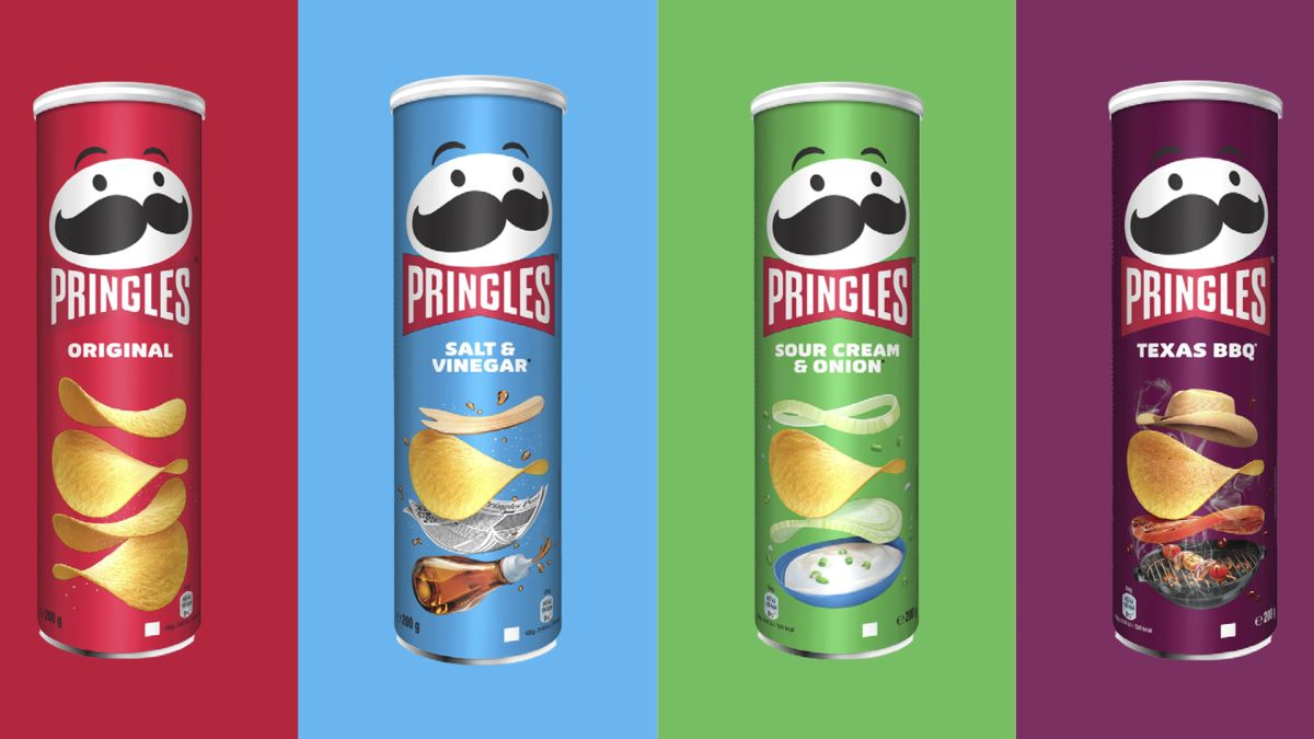 The new Pringles logo has the internet divided - but we love it