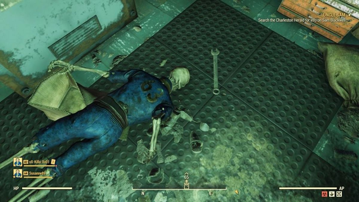 Fallout 76 glitch traps players in a sealed-off vault full of unreleased content