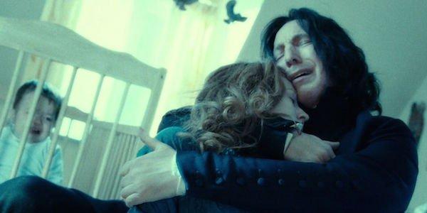 Keraguan di Severus Snape suara saat ia membunuh Albus Dumbledore