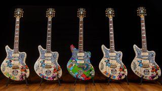 D'Angelico/Mister E Dead & Company guitars