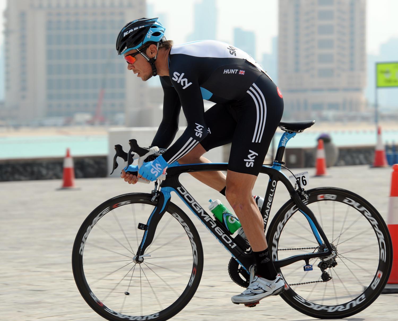Jeremy Hunt, Tour of Qatar 2011, prologue