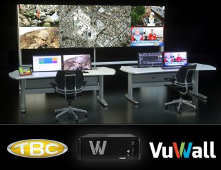 The following press release was issued today by VuWall. Click here to view in browser. Visit VuWall at InfoComm 2019, Booth 2281 Share it on Twitter VuWall Partners With TBC Consoles to Offer Control Room Kit