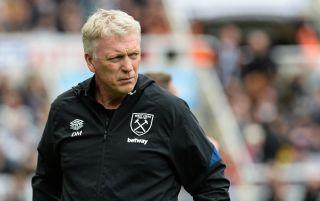 West Ham United manager David Moyes | West Ham v Manchester United live stream