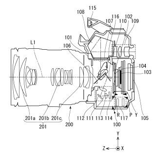 Canon files patent for in-body image stabilisation