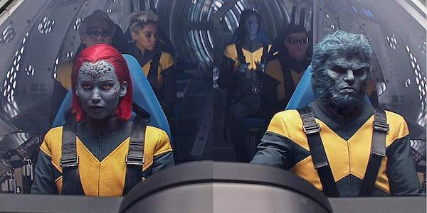 Mystique, Beast and other X-Men in Dark Phoenix