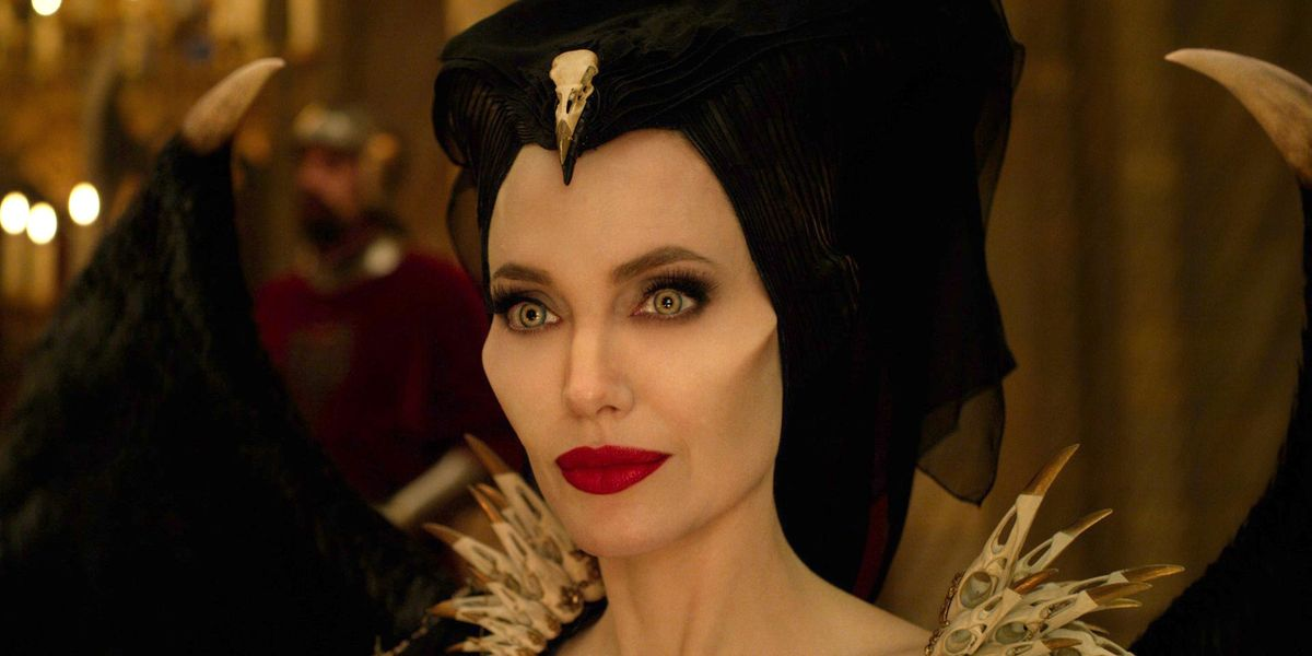 Angelina Jolie as Maleficent in the film Maleficent.