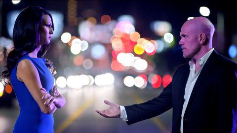 Nomi Ruiz and Nick Sasso in 'Haymaker'.