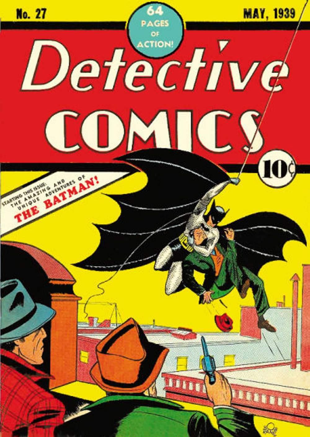 Bandes dessinées détective # 27