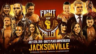 watch aew fight for the fallen live stream