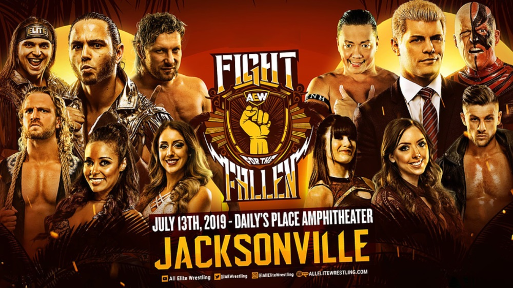 How to watch Fight for the Fallen: live stream the AEW PVV