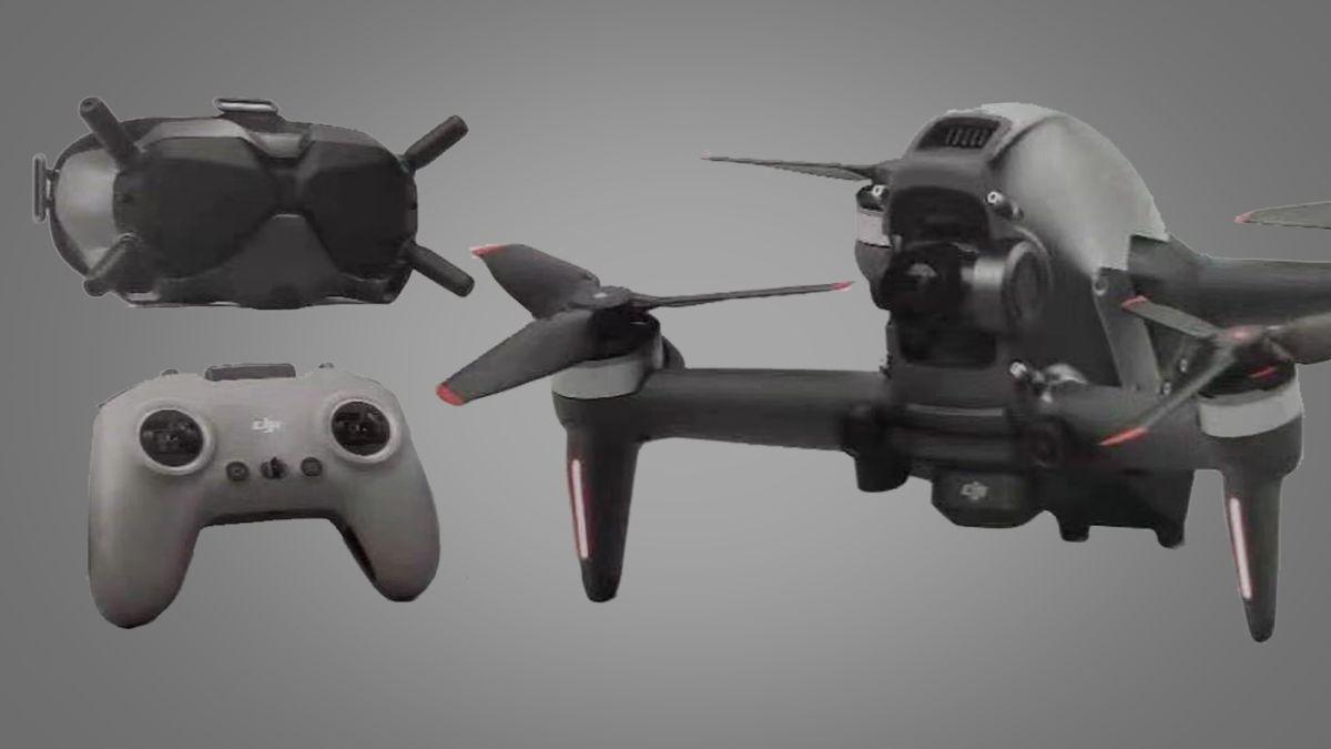 Rumored DJI FPV drone revealed in full in unboxing video - Techradar