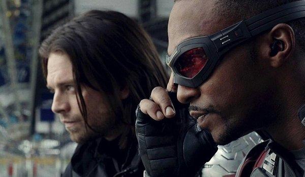 Winter Soldier Falcon Sebastian Stan Anthony Mackie Captain America: Civil War