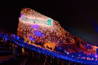 Rowdytown II at Red Rocks with Pixel Mapping