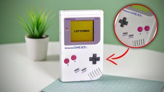 Left handed Game Boy