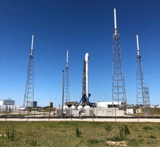 TESS and Falcon 9 on the Pad