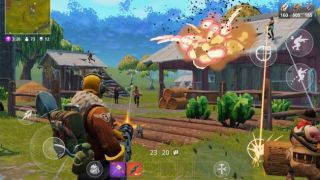 Fortnite on Android (Image credit: Epic Games)
