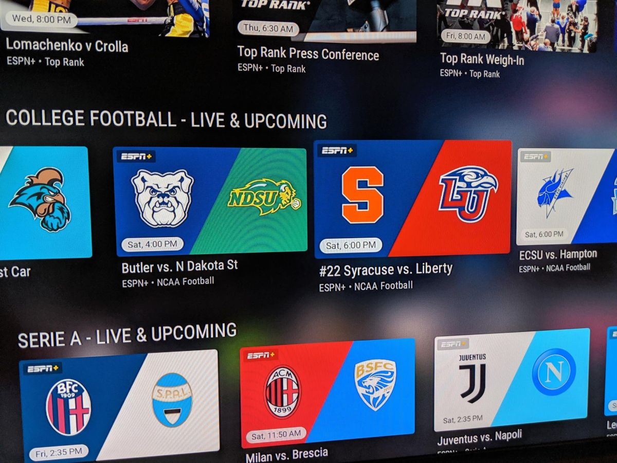 Watch College Football games online with ESPN+ | WhatToWatch