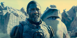 Bloodsport and King Shark in The Suicide Squad