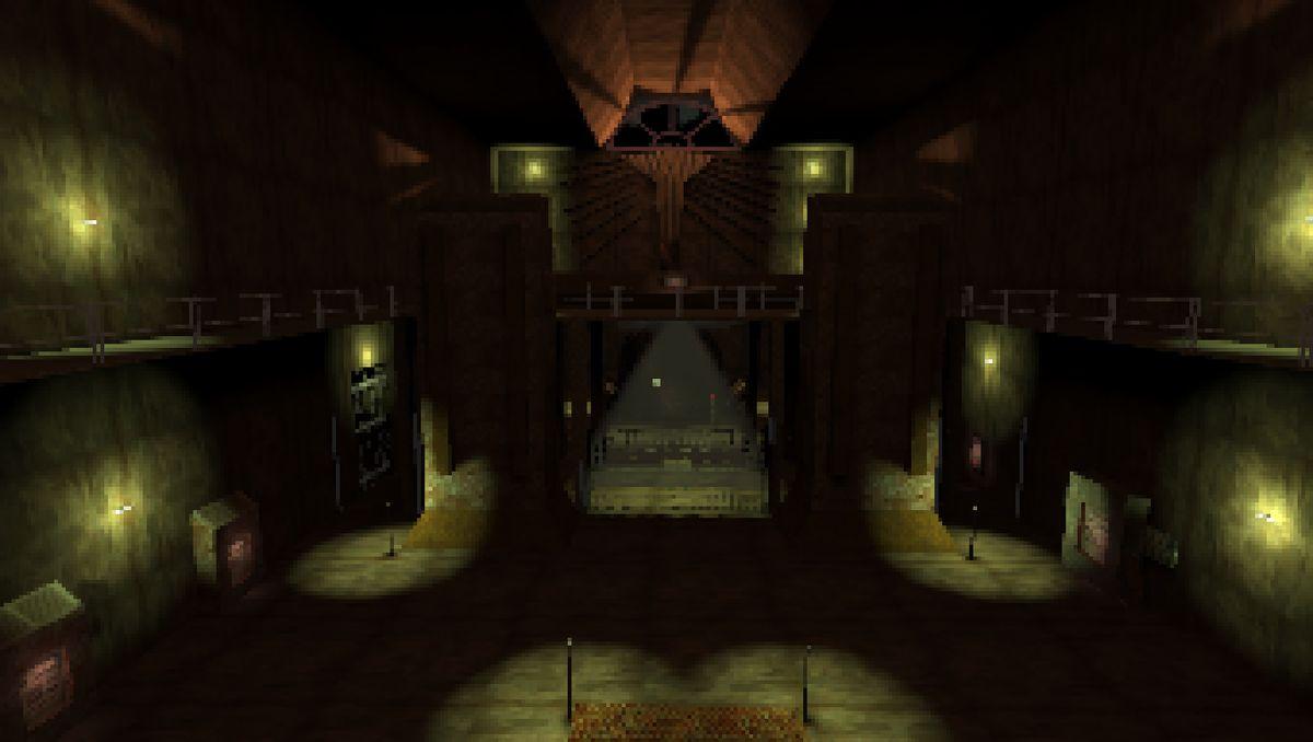 Repair a frightful machine in free horror game Please