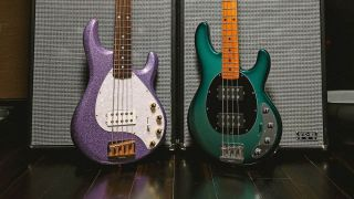 Ernie Ball Music Man Stingray Bass finishes 2021