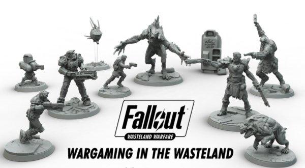 Fallout: Wasteland Warfare figures