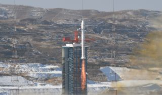 A Chinese Long March 2D rocket launched four satellites, two for China and two for Argentinian company Satellogic, into orbit from the Taiyun Satellite Launch Center on Jan. 15, 2020.