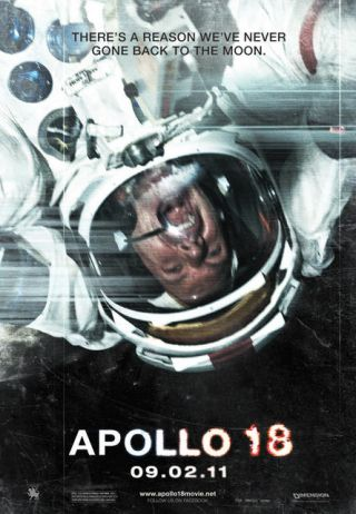 Apollo 18 movie poster.
